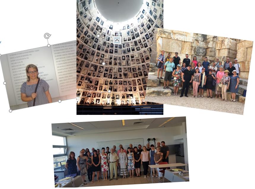"""Учител от НПТГ """"Шандор Петьофи"""" участва в обучителен семинар за български учители по НП """"Квалификация"""" 2018 г. в Израел."""