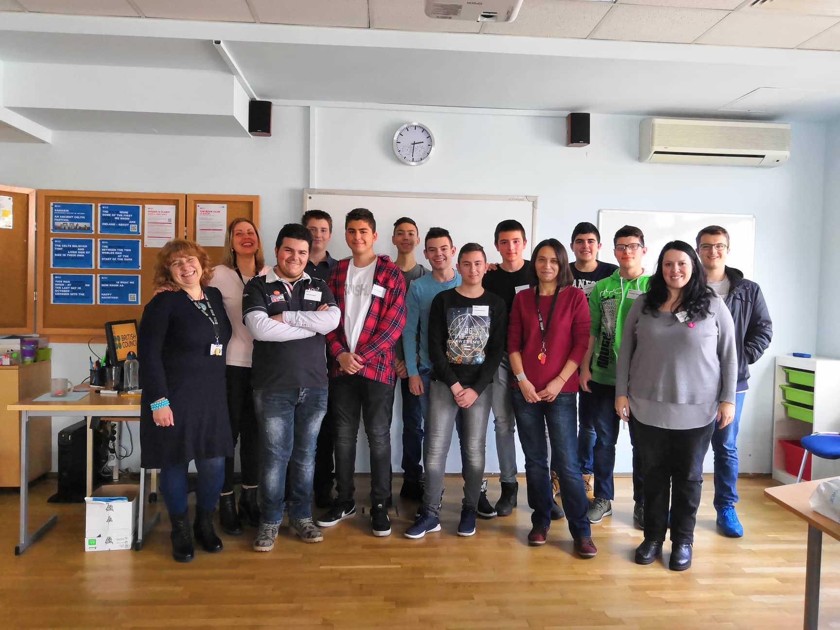 Наши ученици на семинар в Британския съвет в град София