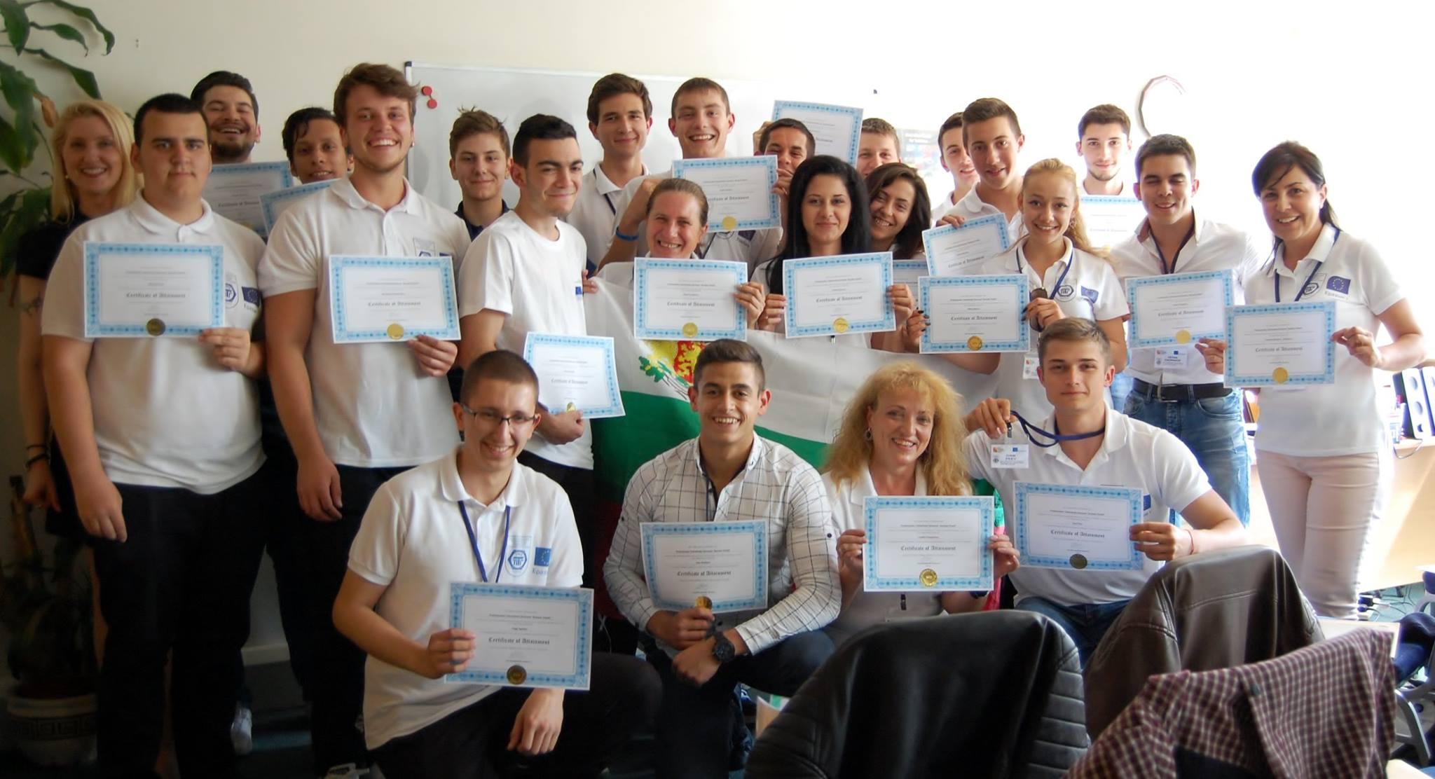 Ученици от Разград получиха препоръки от лондонски IT компании