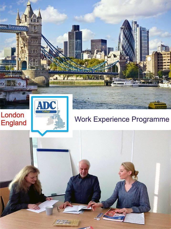 Посещение в АDC College - Лондон, Англия