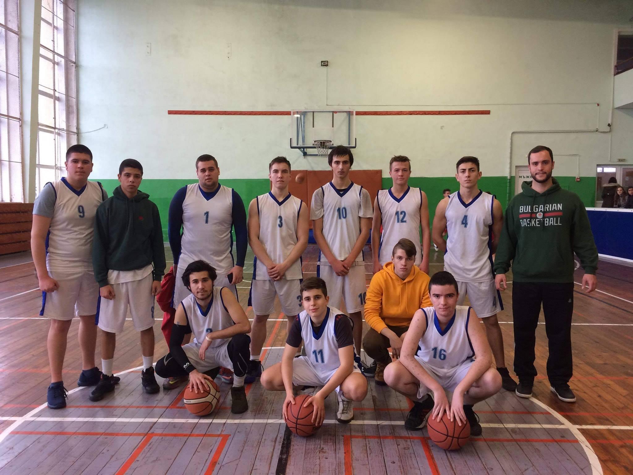 Второ място за нашите юноши на общинското първенство по баскетбол