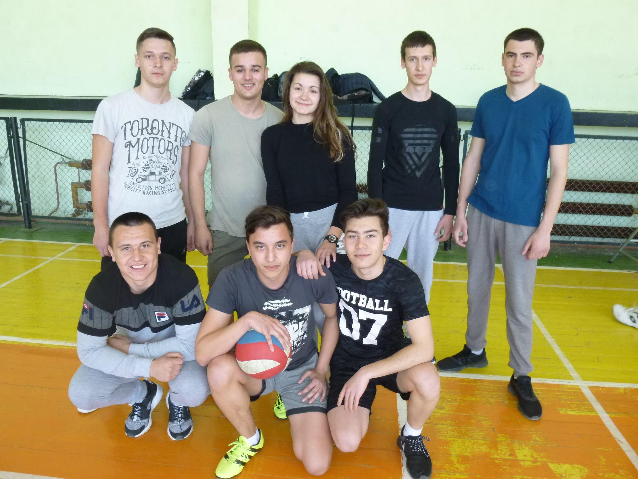 Училищен турнир по волейбол
