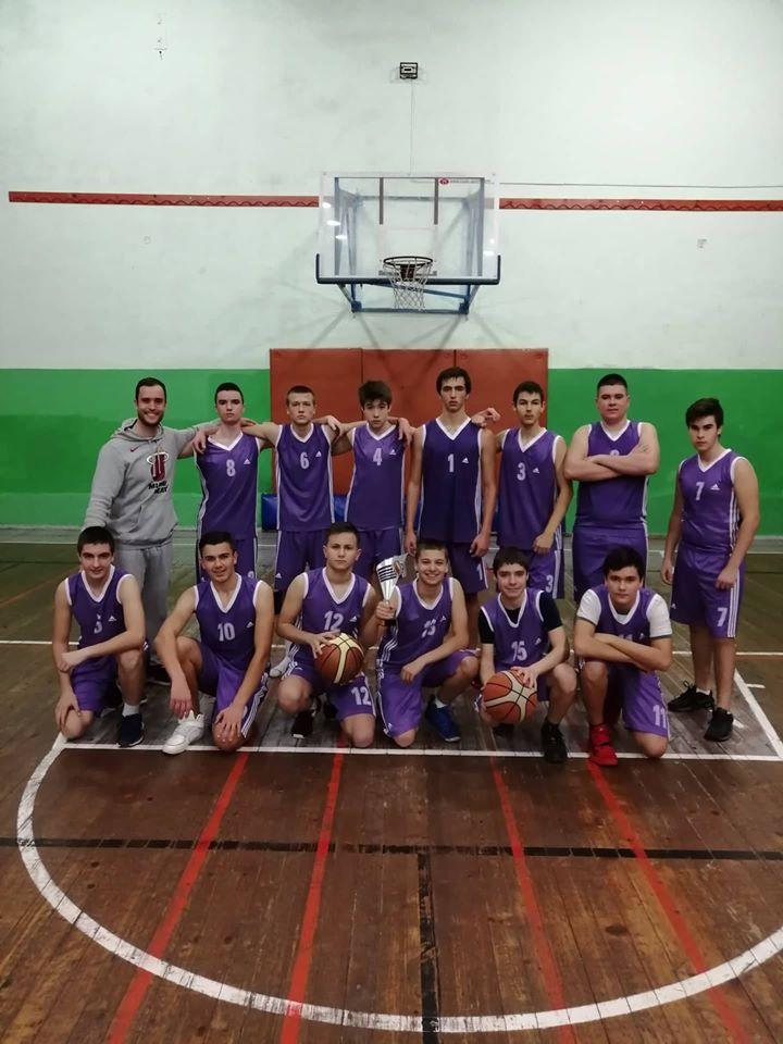 Баскетбол - Ученически игри 2019/2020