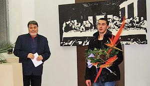 Откриха нестандартна изложба на ученик от Механото