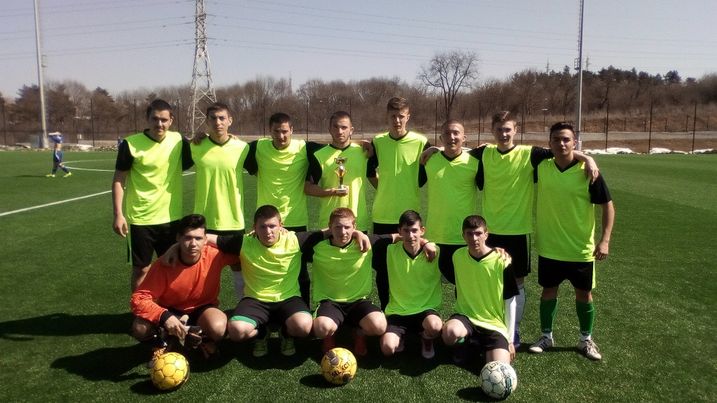 Отново на финали на Ученически игри по футбол!